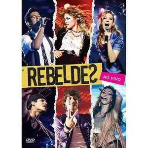 DVD Rebeldes Ao Vivo